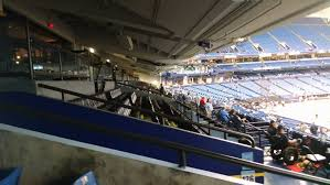 Hancock Stadium Seating Chart Tampa Bay Rays Club Seating At Tropicana Field