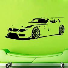wall murals racing car mural ideas free shipping cmcm wall decals vinyl decal sticker wall murals wall de