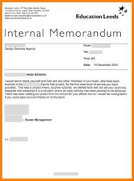 internal memo samples 5 internal memo examples emt resume
