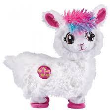 Интерактивная мягкая <b>игрушка ZURU Pets</b> Alive Танцующая Лама ...