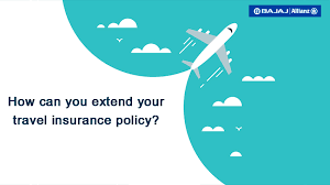 travel insurance policy extension now
