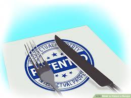 image led patent a recipe step 1