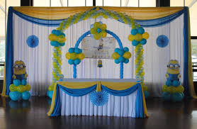 deable me minion theme decorations specialized for balloon birthday decorations you