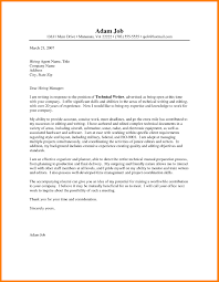 One Page Cover Letter How To Write Proper Resume How To Write Proper