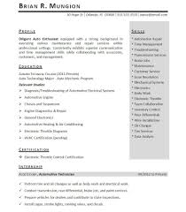 Sample Resumes For Internships Free Resumes Tips
