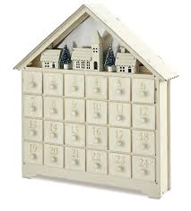 wooden advent calendar to decorate