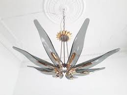 vintage 1563 dahlia chandelier by max ingrand for fontana arte for at pamono