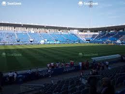 Saputo Stadium Section 106 Seat Views Seatgeek