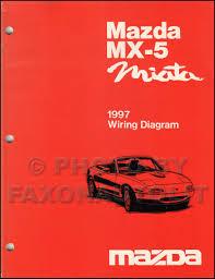 1997 miata wiring diagram 1997 image wiring diagram 1997 mazda mx 5 miata repair shop manual original on 1997 miata wiring diagram