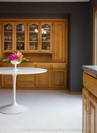 paint colors that go with oak trimGray Kitchen Walls With Oak Cabinets  Outofhome