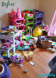 my child s messy room before i organized it