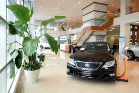 Dealership Showroom Design Subtle Plantings Drive High Design At Lexus Car Dealership
