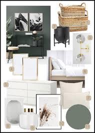Interior Moodboard Schlafzimmer Giveherglitter