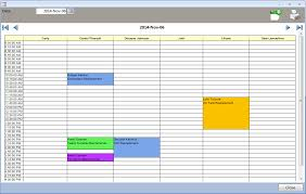 Appointment Calander Ms Access Appointment Calendar Daily Planner Technician