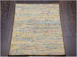 rugsville flatweave gold ivory hand woven wool rug 60 x 90