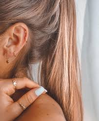 Earrings 12 Or 3 Piercing Cute Ear Piercings Ear Piercings