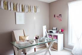 chic home office design home office. Bisforbonnie-office-feature-5 Chic Home Office Design I