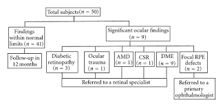 Macular Degeneration Chart Flow Chart Of Imaging Results And Referral Patterns