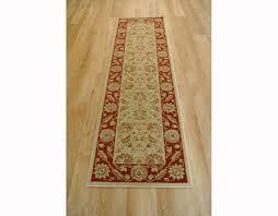 ziegler 7709 cream red runner rug