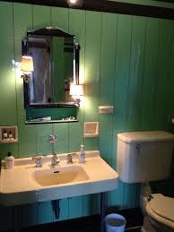1930s Bathroom Jade Vitrolite Art Deco 1930s Bathroom With Original Kohler Sink