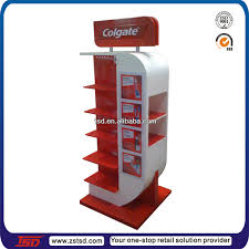 Promotional Stands Displays New Tsdm32 Custom Supermarket Pegboard Tooth Brush Steel Display Stand