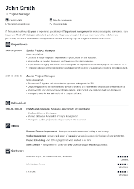 It Resumes Templates Inspiration 28 Resume Templates [Download] Create Your Resume In 28 Minutes