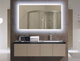 lighted wall mirror. lighted bath mirrors, illuminated bathroom mirror wall r