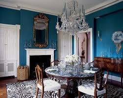 Moderne Kristalle Esszimmer Kronleuchter Mit Schönen Blauen Kerzen