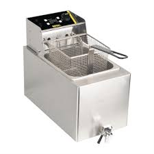 buffalo 6kw single tank countertop fryer 8ltr
