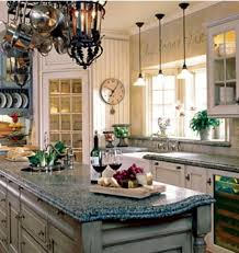 Kitchen Deco Blue Kitchen Decorating Ideas