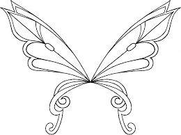 Winx Club Wings Coloring Pages