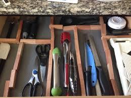 Kitchen Drawer Organization Diy Kitchen Drawer Organizers