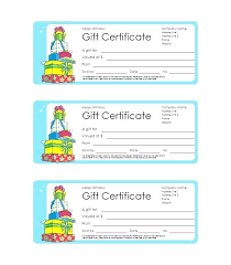 editable gift certificate template free printable voucher templates
