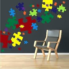 puzzle piece wall art puzzle piece wall art puzzle pieces decal game wall decal murals our puzzle piece wall art