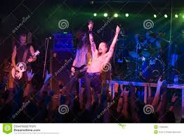 Amorphis Performs On Stage At Diesel Club Editorial Stock Photo