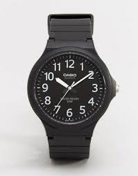 casio watches shop gold watches digital watches asos casio watch mw 240 1bv exit 50m water resist function
