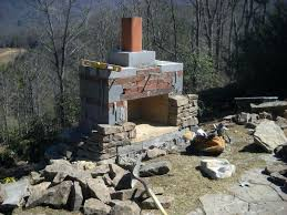building a stone fireplace and chimney how to build a stone fireplace and chimney orig building