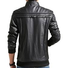 men black pu leather jacket best s in india rediff ping