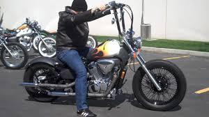 honda shadow vlx 600 bobber ride hd youtube
