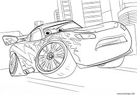 Coloriage Lightning Mcqueen From Cars 3 Disney Dessin