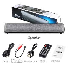 omufipw Wired Wireless Bluetooth 5.0 Speaker Soundbar Remote Control  Subwoofer for Home Cinema TV PC Hi-Fi & Home Audio Speakers  umoonproductions.com