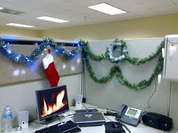 office theme ideas. Christmas Decoration Theme Ideas Amazing Decor Features Cool Cubicle With  Red Sock And Simple Elegant Office