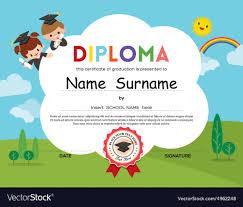 free preschool certificates 016 template ideas preschool elementary school kids diploma