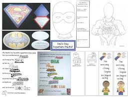 classroom bies father s day superhero packet father s day superhero packet