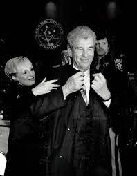 District Judge Jack Lehman receives help with his new robe from his wife,  LuLu, and bailiff, Patrick Malone, in this undated file photo. Gary  Thompson Las Vegas Review-Journal | Las Vegas Review-Journal