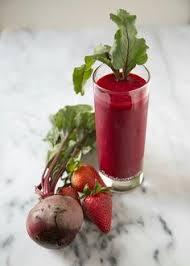 Resultado de imagen para smoothie selva roja de remolacha
