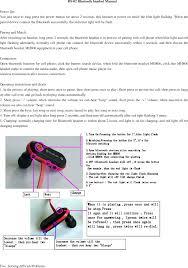 Bs 02 Bluetooth Headset User Manual Dongguan Eimuse