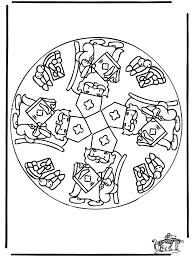 Mandala Kleurplaat Kinderen Malvorlage Mandalas Ausmalbild 21907