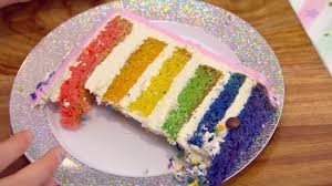 Best Cake Wins Expert Advice Multi Coloured Layered Cake Makeful