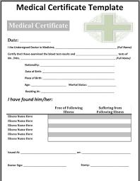 Download Medical Certificate Sample For Free Formtemplate